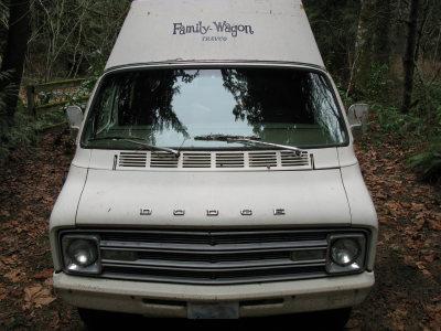 Summer's van front