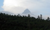 Adam's Peak from afar