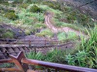 A harder part of the Adam's Peak trail